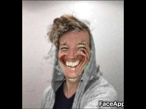 I FaceApp'd my face 219 times with the smile filter