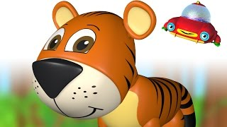 TuTiTu Animals | Animal Toys and Songs for Children | Tiger