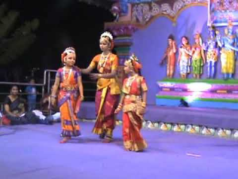 Dheekshita first classical dance performance