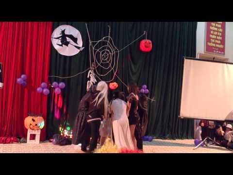 Biểu diễn thời trang haloween lớp K9TV trường CĐSP LS