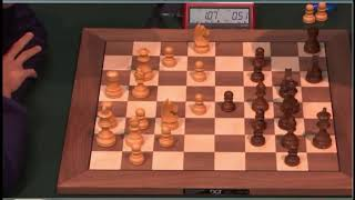 A much lower rated chess player crushing Magnus Carlsen brutally