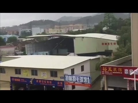 Typhoon Hato causes severe damage in southern China