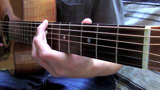 Skyfall - Adele - Fingersyle Guitar Cover