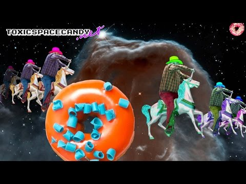 Lonesome Unicornboy and the black hole donuts