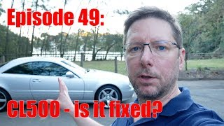 mercedes-benz-cl500-suspension---is-it-fixed-episode-49