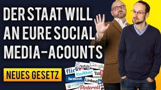 Der Staat will an Eure Social Media-Accounts | Neues NetzDG | Medien...