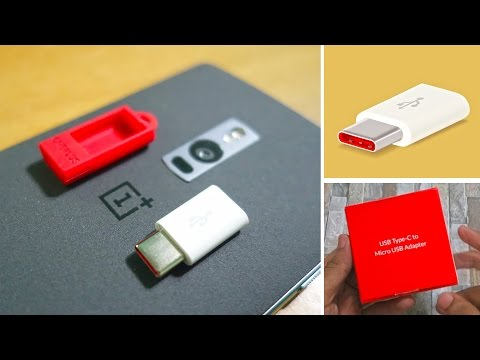OnePlus USB Type-C Adapter Review! Use any Micro USB cable & OTG cable!
