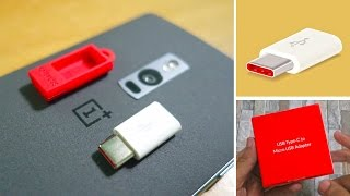 oneplus usb type c adapter review use any micro usb cable otg cable