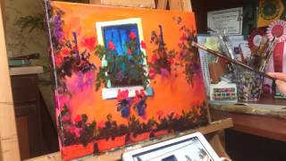 Time Lapse painting of