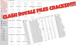 LEAKS | CRACKED CSV CLASH ROYALE!!!
