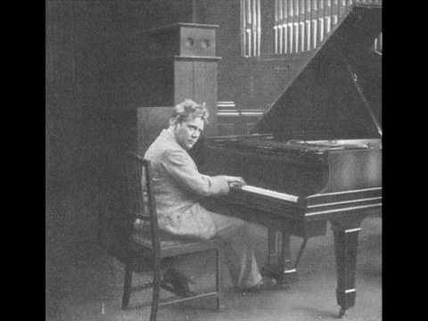 Edwin Fischer plays Bach-Busoni, BWV639