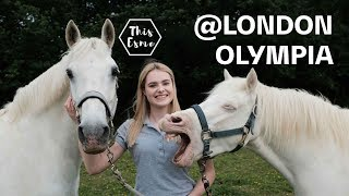 'This Esme' at the London Olympia International Horse Show | Guest Vlog