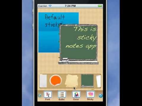 Sticky Notes - Free iPhone iPad App