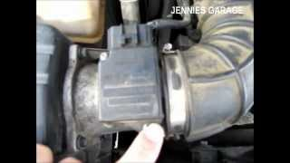 How To Clean A Ford MAF Sensor - Simple & Effective