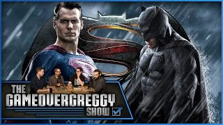 Batman V Superman Should Be 2 Movies - The GameOverGreggy Show Ep. 61 (Pt. 2)