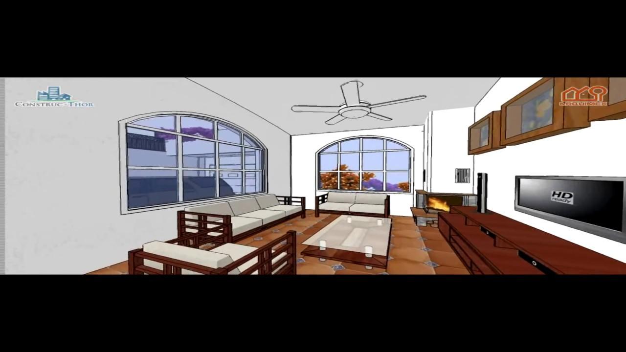 Planos de casas modelo san antonio 21 casa solar de 1 for Planos de casas 8x15