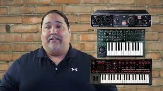 How to create an Aggregate Device with Roland MX-1, JD-Xi, and Quad-Capture