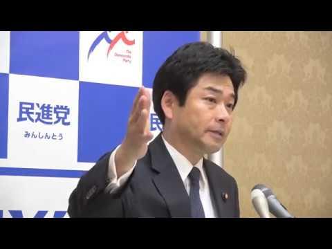 61020 山井国対委員長会見 2016年10月20日