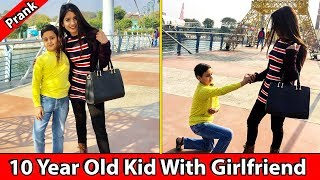 10 year old kid with girlfriend | Baklol Bachha Ep1 | Valentine Prank | TST