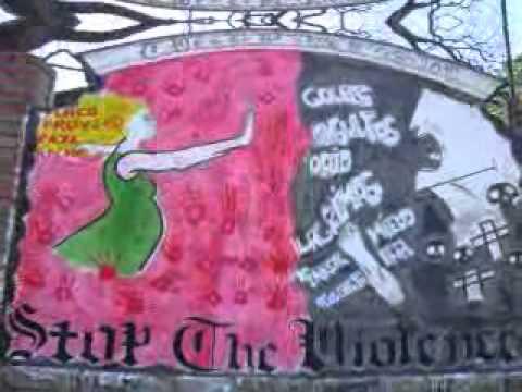 Murales contra la violencia youtube for Cuanto cobrar por pintar un mural