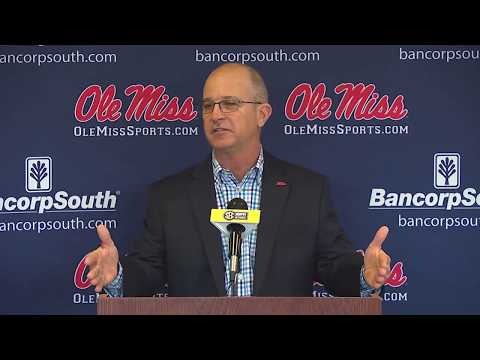 Ole Miss Baseball Media Day 2018 - Mike Bianco