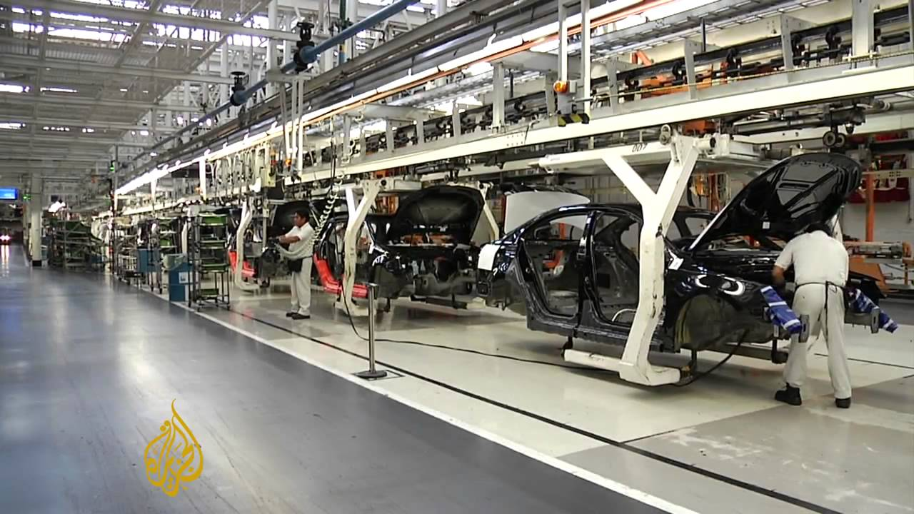 car manufacturing booms in mexico - youtube