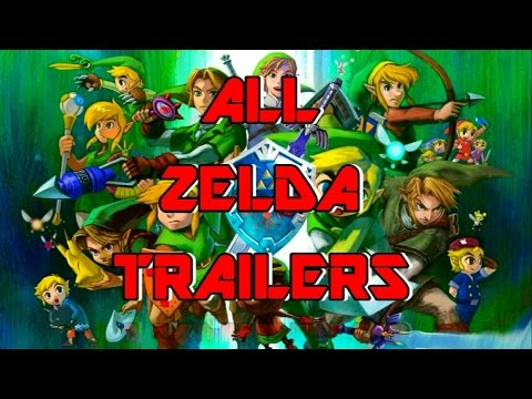 All The Legend of Zelda Trailers (1986-2014)