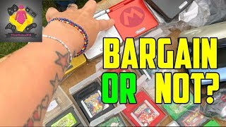 Car Boot Retro Games Console hunt - BARGAINS or NOT? | TheGebs24