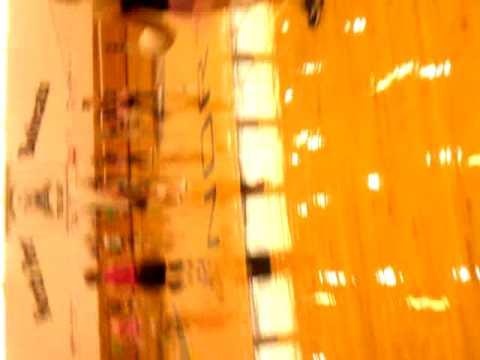 Alexandria Johnson volleyball game