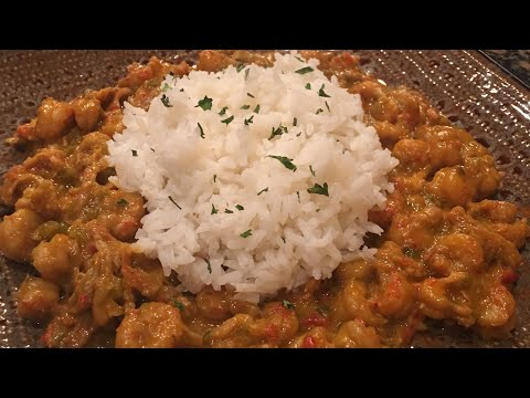 Crawfish Étouffée By The Cajun Ninja