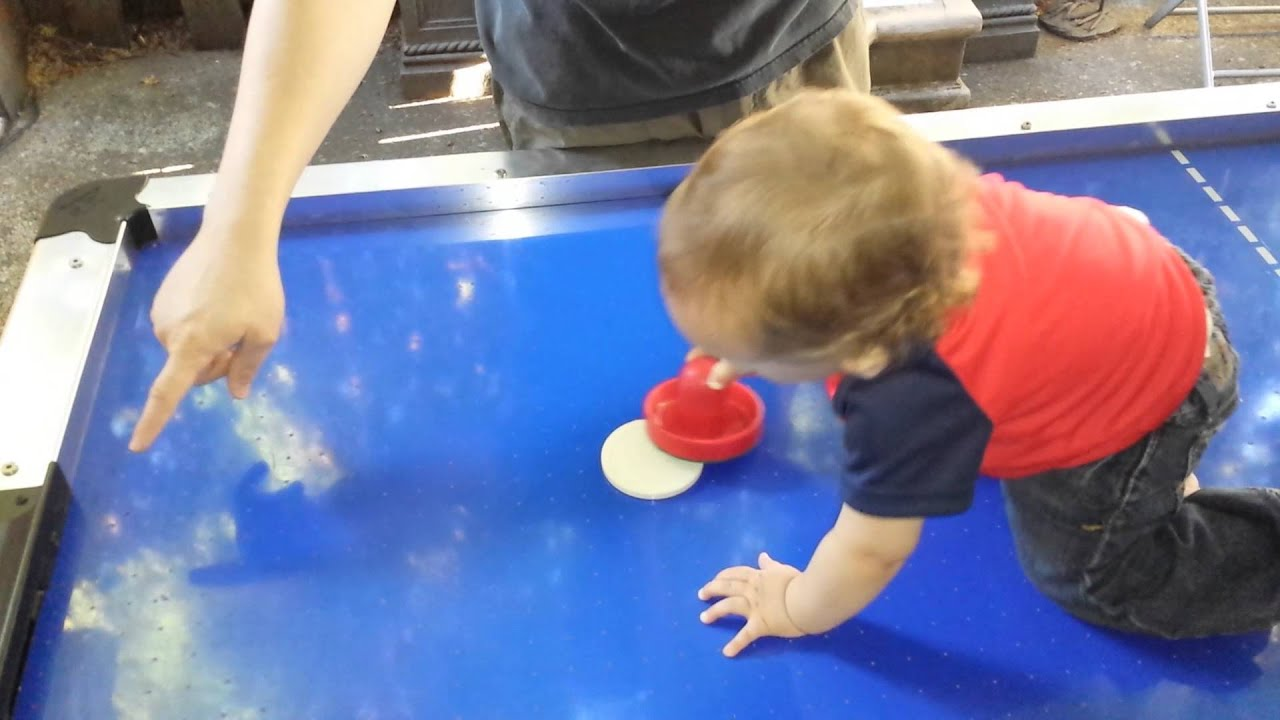 Rhino Air Hockey Table With Baby
