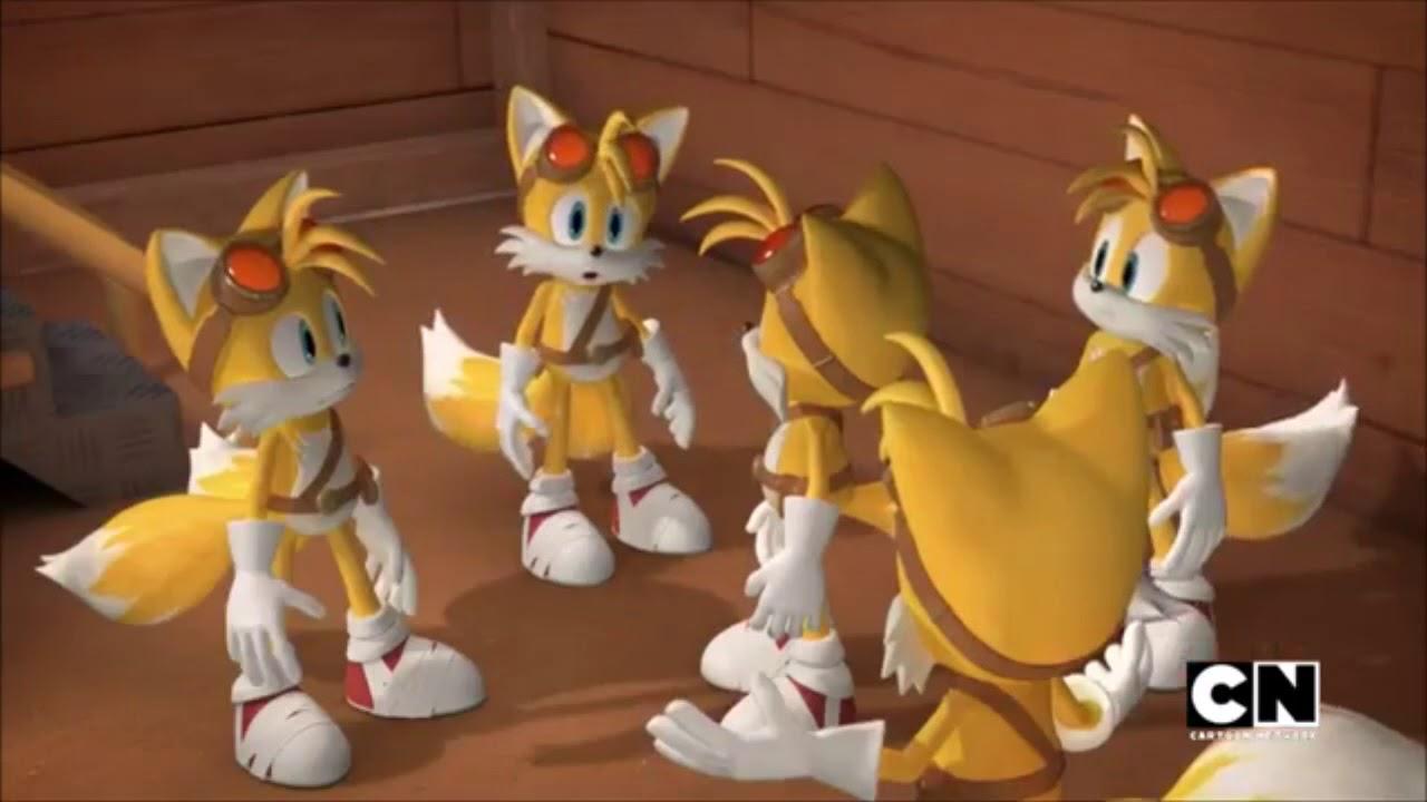 *450 subs special* FANDUB Sonic Boom - Multi Tails ...