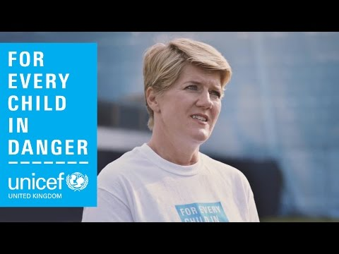 Richard Ayoade's exclusive interview with Clare Balding for Unicef