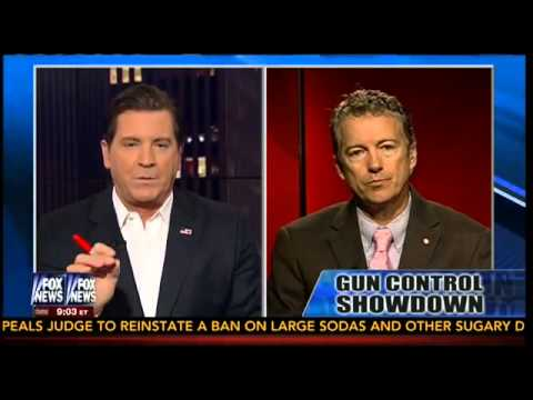RAND PAUL ON GUN CONTROL 2016!!!