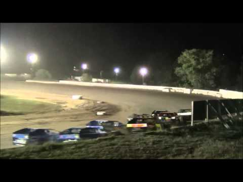 Nicole Spalding Feature Race, 3rd Place Finish at Five Mile Point Speedway 8/21/2015