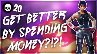Why Xbox/PS4 Fortnite Is Pay To Win! (Get Better At Fortnite Battle Royale By Spending Money)