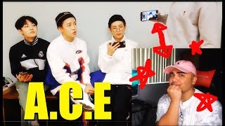 KPOP GROUP A.C.E CALLIN ME OUT! LOL!