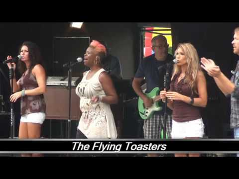 Live from Atlanta New Earth Festival - Flying Toasters part 1