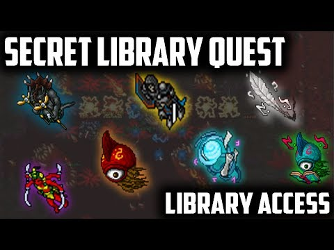 The SECRET LIBRARY quest - LIBRARY ACCESS
