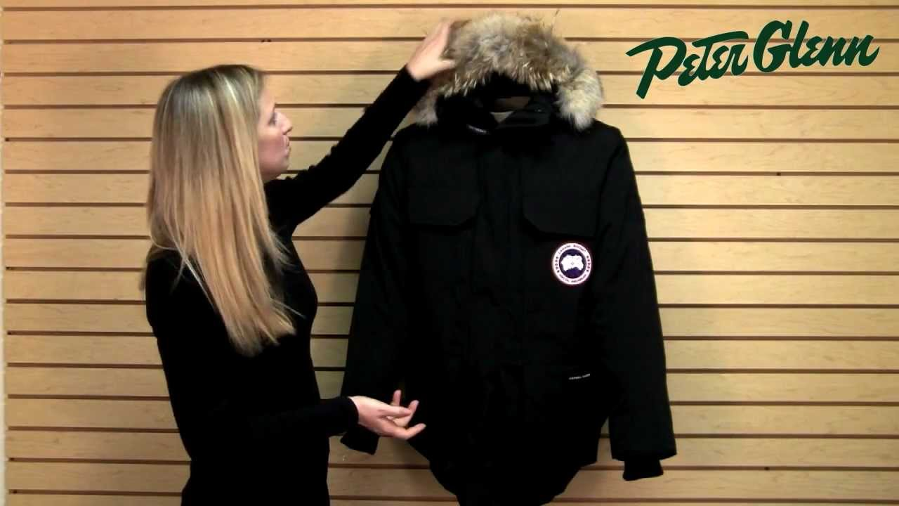 Canada Goose coats sale fake - Canada Goose Expedition Parka Review from Peter Glenn - YouTube