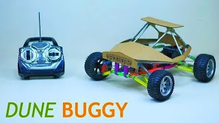 How To Make Rc Car Buggy // DIY Full Suspension Rc Buggy