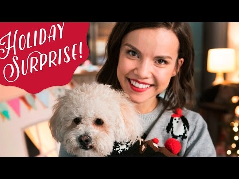 Save Surprising My BFF (and her dog!) for the Holidays! ◈ Ingrid Nilsen Pics