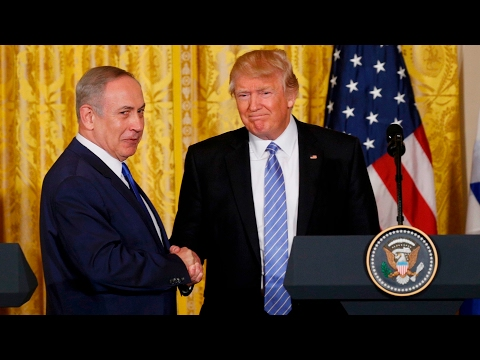 Video: Trump and Netanyahu praise each other at joint news conference