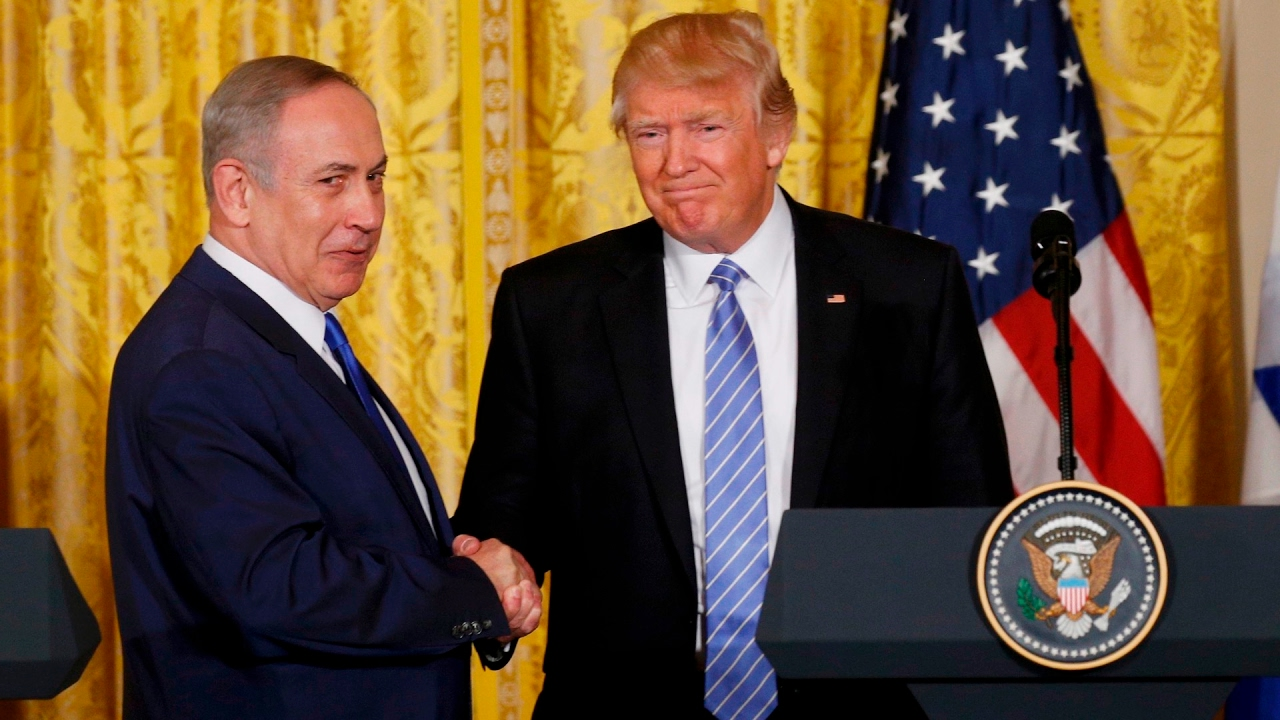 Video: Trump and Netanyahu show the warmth between the two leaders at joint news conference