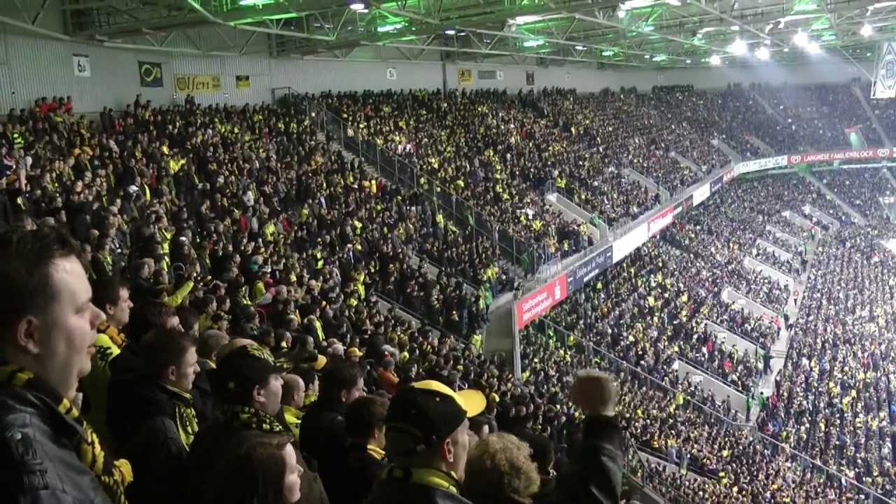 Borussia Mönchengladbach vs Borussia Dortmund 1-1 Stimmung Fans Teil 1 Gladbach - BVB Video