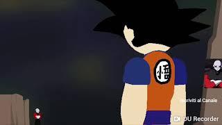 Goku contro Jiren Battaglia Reppata