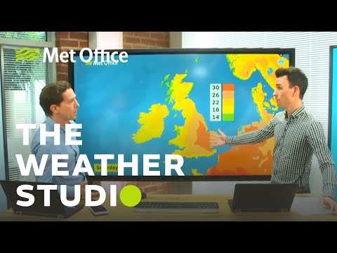 Heatwave on the way? - The Weather Studio 25/06/19