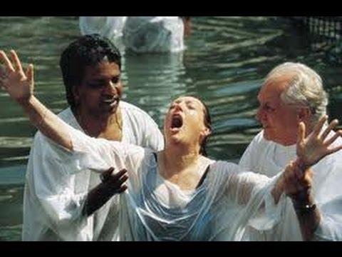Yardenit Baptismal Site, Jordan River, Israel. Tour guide: Zahi Shaked. November 15, 2012