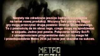 Metro 2034 Zapowiedź