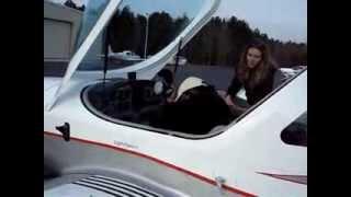 Flying a sport cruiser